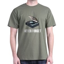 Never Forget Turntables T-Shirt