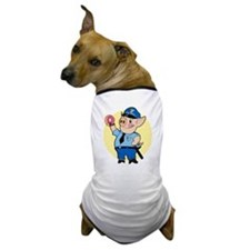 Cop Chops Dog T-Shirt