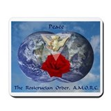 Rosicrucian Peace Mousepad