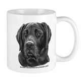 Diesel, Black Lab Small Mug