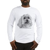 Sadie, Maltese Long Sleeve T-Shirt