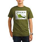 VEGAN Organic Men's T-Shirt (dark)