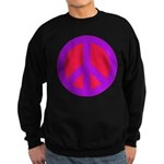 Red on purple Sweatshirt (dark)