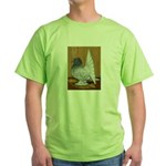 Indian Fantail Pigeon Green T-Shirt