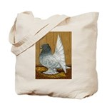 Indian Fantail Pigeon Tote Bag