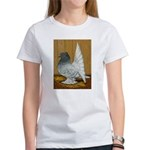 Indian Fantail Pigeon Women's T-Shirt