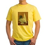Indian Fantail Pigeon Yellow T-Shirt