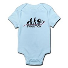 Mountain Bike Evolution Infant Bodysuit