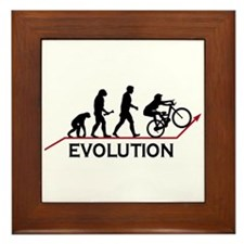 Mountain Bike Evolution Framed Tile