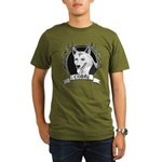 Corgi Organic Men's T-Shirt (dark)