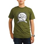 Labrador Retriever Organic Men's T-Shirt (dark)