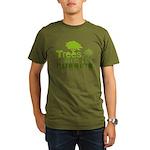 Trees are for hugging Organic Men's T-Shirt (dark)