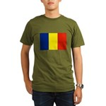 Armenia Flag Organic Men's T-Shirt (dark)