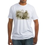 Frillback Pigeons Fitted T-Shirt
