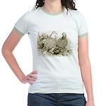 Frillback Pigeons Jr. Ringer T-Shirt