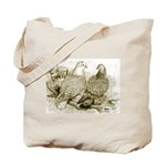 Frillback Pigeons Tote Bag
