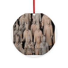 Xi'an Terra-Cotta Warriors - Holiday Ornament