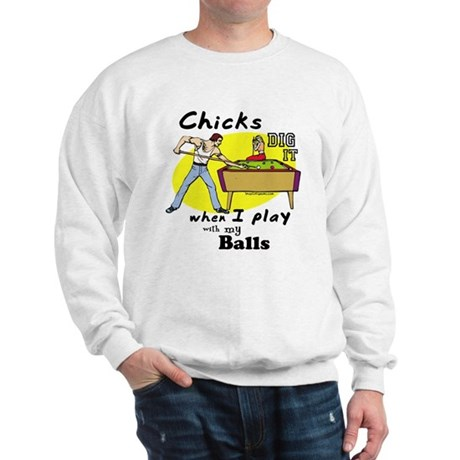 Suggestive Billiards Sweatshirt