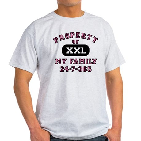 Property of Family Mom Light T-Shirt