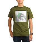 Goofy Armadillo Organic Men's T-Shirt (dark)