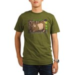 Summer Pig Organic Men's T-Shirt (dark)