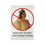 please shut up bridezilla magnet 10 pack