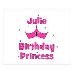1st Birthday Princess Julia! Posters