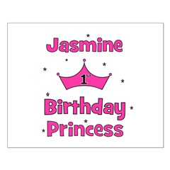 1st Birthday Princess Jasmine Posters