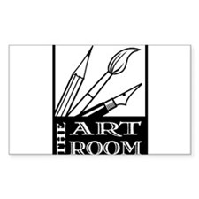 The ART ROOM Rectangle Decal