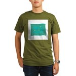 Capricorn Constellation Tapes Organic Men's T-Shir