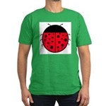 Ladybug Men's Fitted T-Shirt (dark)