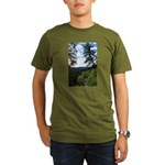 Eel River from the cliff Organic Men's T-Shirt (da