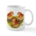 Red Leghorn Chicks Mug
