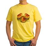 Red Leghorn Chicks Yellow T-Shirt