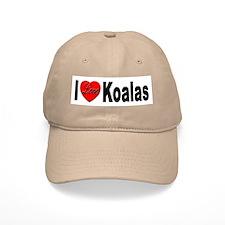 I Love Koalas Baseball Cap