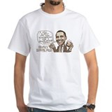 Wimpy Obama Hamburger Shirt