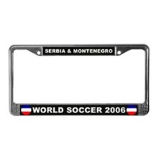 Serbia and Montenegro License Plate Frame