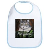 Shakespeare's Cat Bib