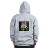 Shakespeare's Cat Zip Hoodie