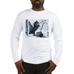 Indian Fantail Pigeons Long Sleeve T-Shirt