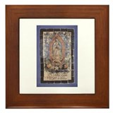 Virgin of Guadalupe Framed Tile