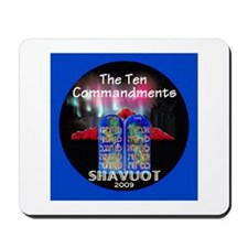 Shavuot Ten Laws Mousepad