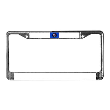 Shavuot Ten Laws License Plate Frame