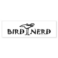 Birding, Ornithology Sticker (Bumper 50 pk)