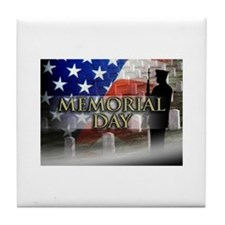 Memorial Day Tile Coaster