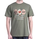Peace Love SPF Dark T-Shirt