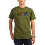 Fire Drake and Sea Serpent Organic Men's T-Shirt (