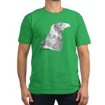 Wedge Tailed Eagle Fine Men's Fitted T-Shirt (dark