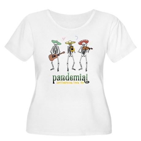 Pandemia! Women's Plus Size Scoop Neck T-Shirt