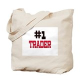 Number 1 TRADER Tote Bag